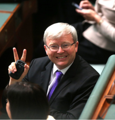 """""""There's a big future for Australian manufacturing under this Government"""" Kevin Rudd"""