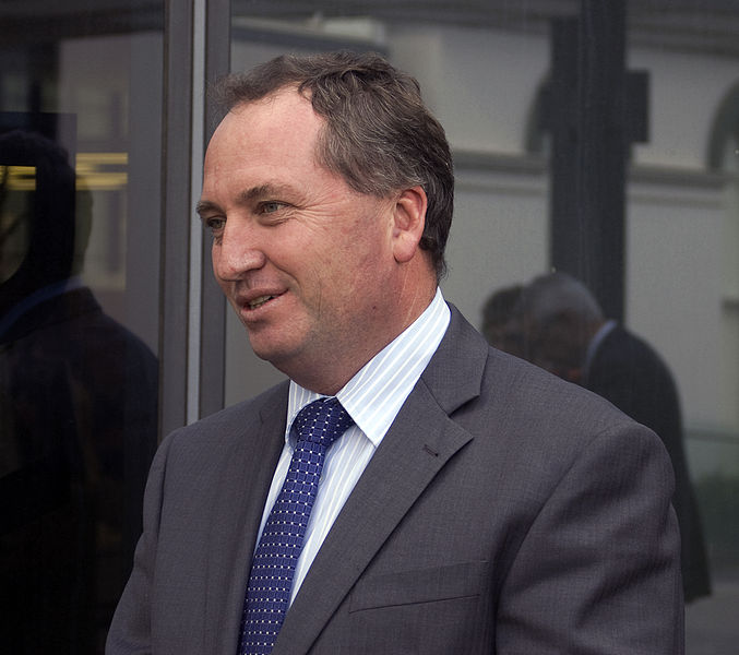 Barnaby Joyce confirmed as Australia's new agriculture minister