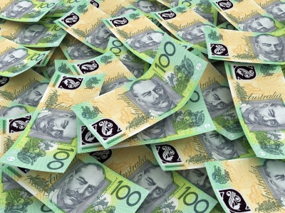 Australian foreign exchange market moderated