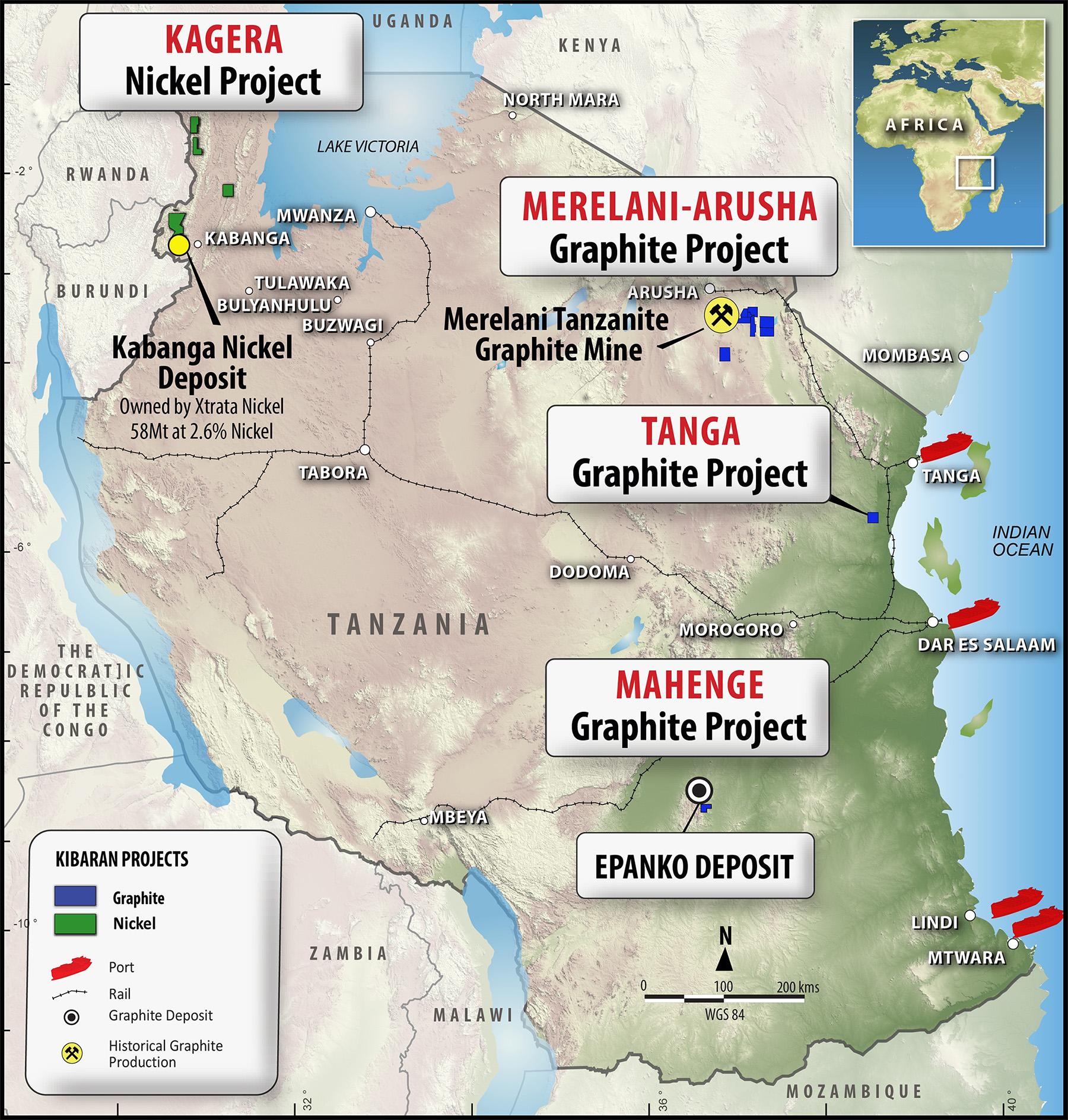 Kibaran Resources issues Epanko Graphite Project update