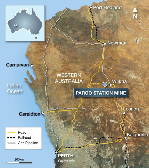 Ivernia to shut down Paroo Station lead mine in WA – 200 mining jobs to go