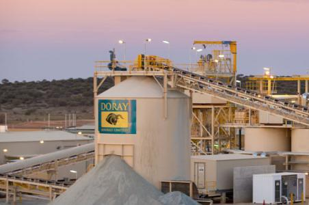 Doray Minerals signs Deflector power generation and concentrate off-take agreements