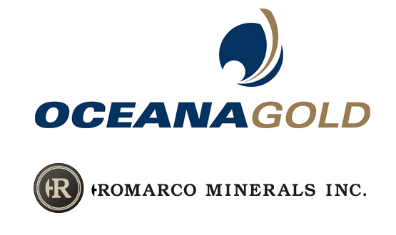 OceanaGold Corp acquires Romarco Minerals