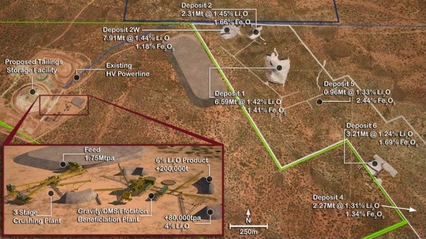 Construction commences at Mt Marion lithium deposit in WA