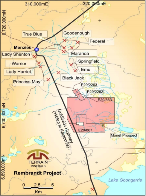 Terrain Minerals begins drilling at Rembrandt gold project in WA