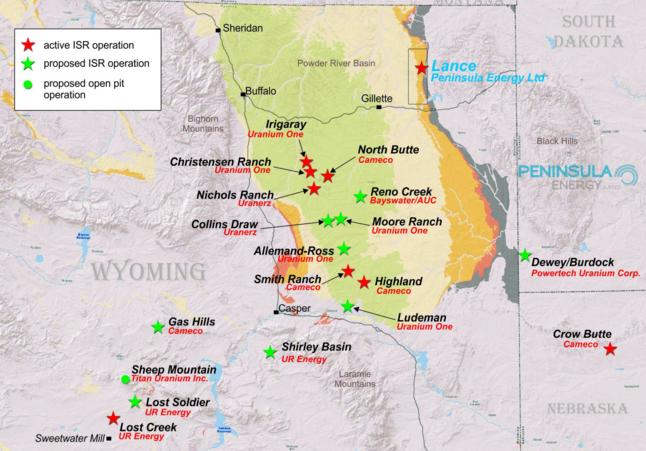 Peninsula Energy announces first uranium delivery