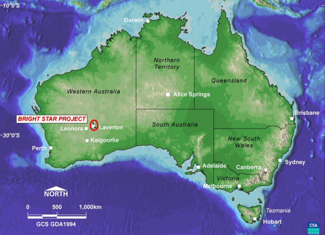 Stone Resources and MHM Metals enter into JV to develop Brightstar Gold Project