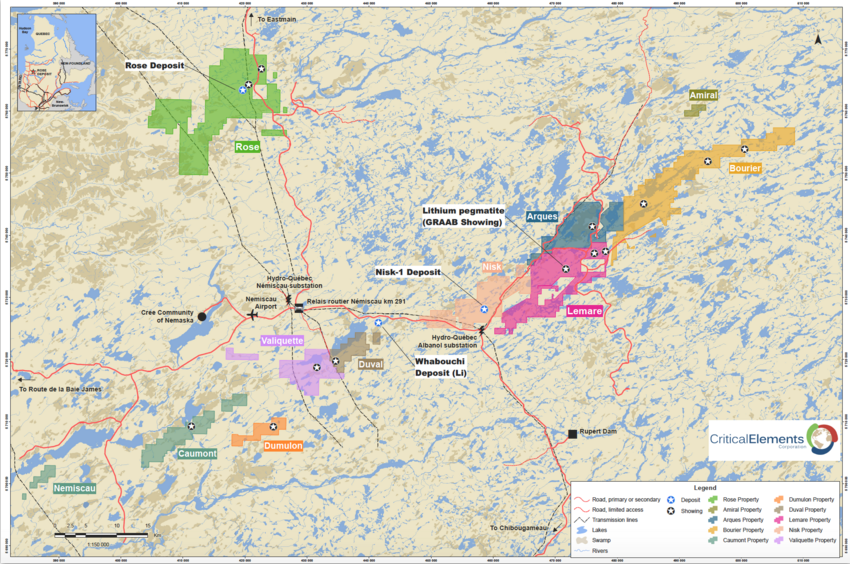 Lepidico signs agreement with Critical Elements to acquire up to 75% interest in Lemare project