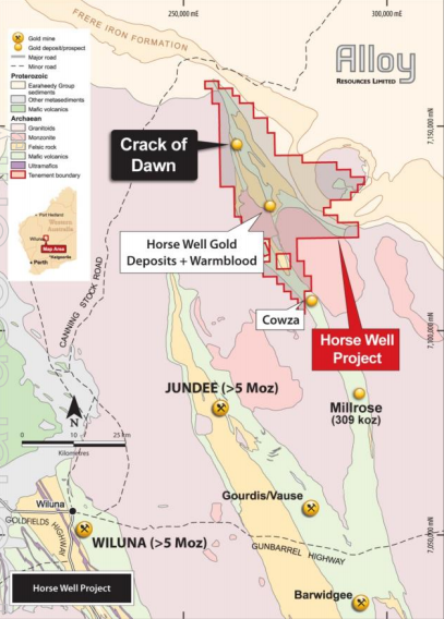 Image credit: Alloy Resources ASX release