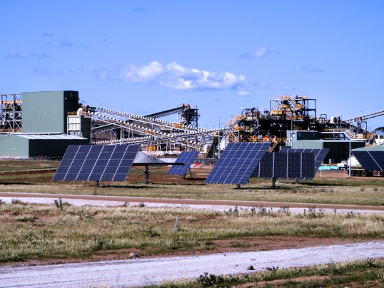 Galaxy Resources' Mt Cattlin spodumene project Image credit: www.galaxyresources.com.au