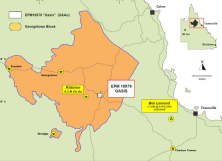 PepinNini to investigate historic gold intersections within its Oasis exploration license