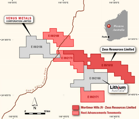 Segue expands Gascoyne lithium exploration with Mortimer Hills JV