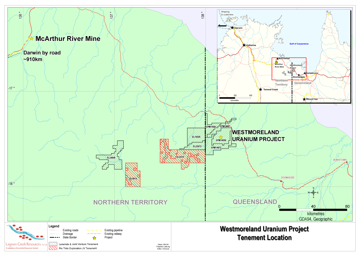 Laramide receives extension of earn-in period for Rio Tinto exploration farm-in and JV