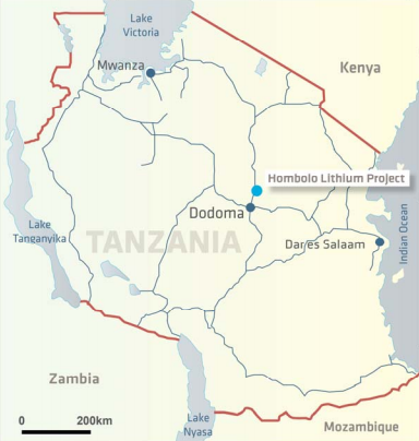 Auroch acquires Hombolo lithium project in Tanzania