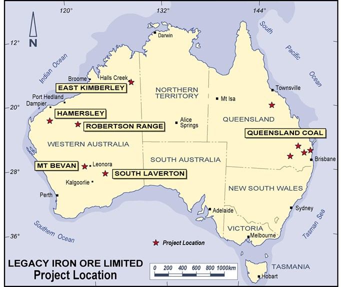 Legacy Iron set to launch ground magnetic geophysical survey at Mt Bevan Project