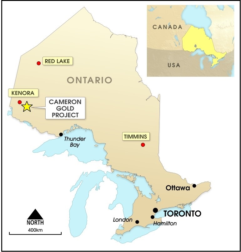 Chalice wraps up sale of Cameron Gold Project to First Mining Corp