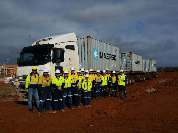 First shipment of gold-copper concentrate from Deflector. Image credit: Doray Minerals/ASX
