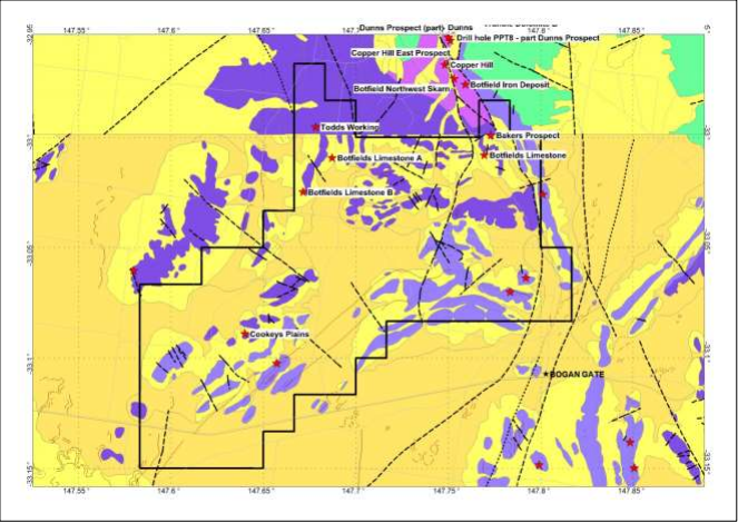 Alliance Resources files exploration licence application for Bogan Gate West gold-base metal project