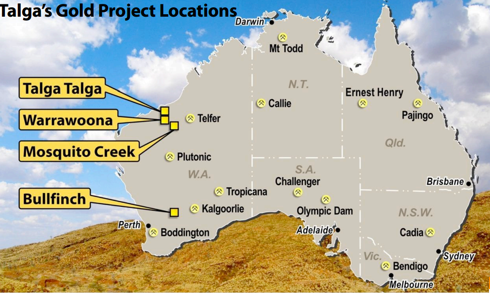 Talga wraps up sale of gold projects in Pilbara