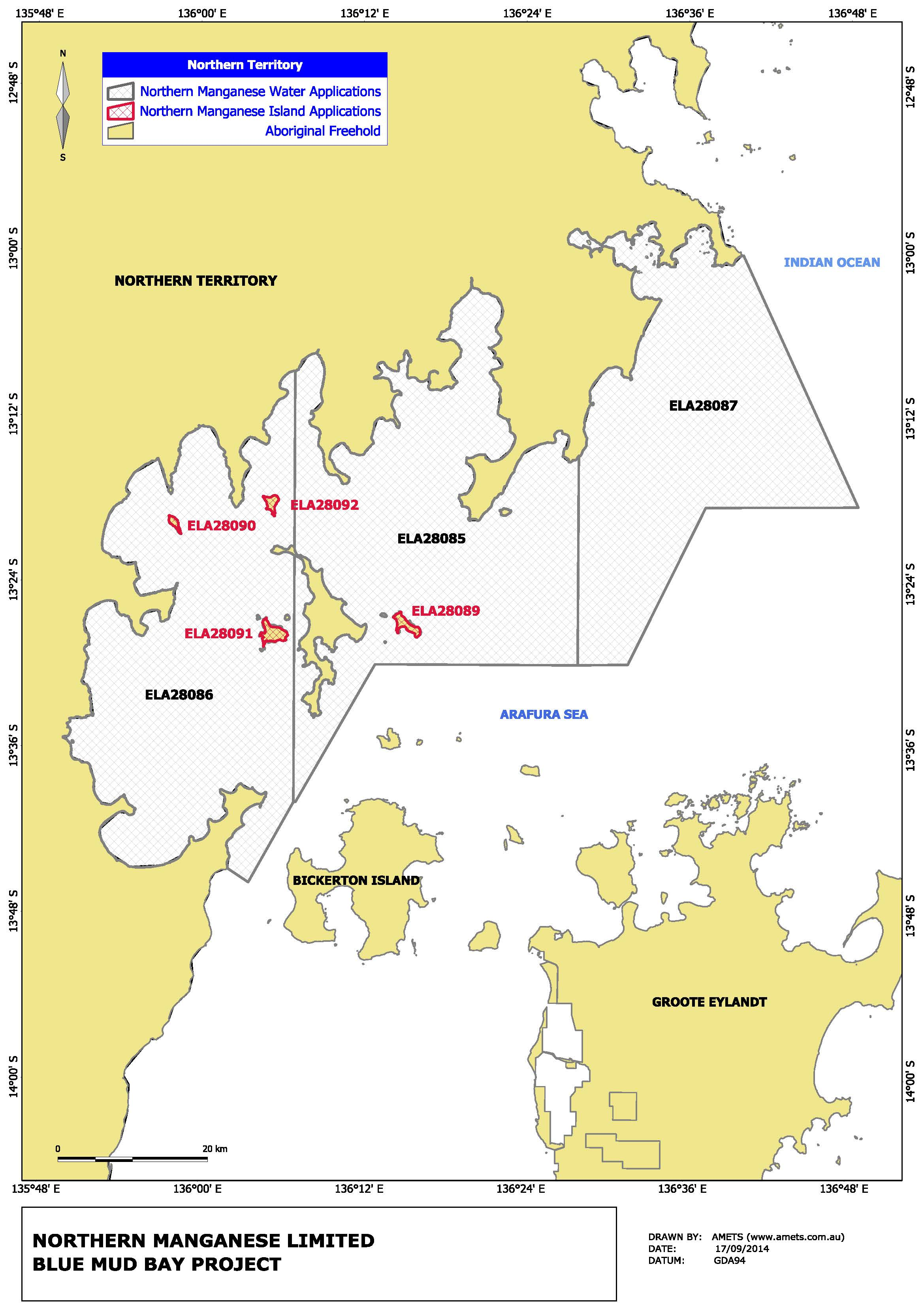 NTM sells 90% interest in three manganese projects