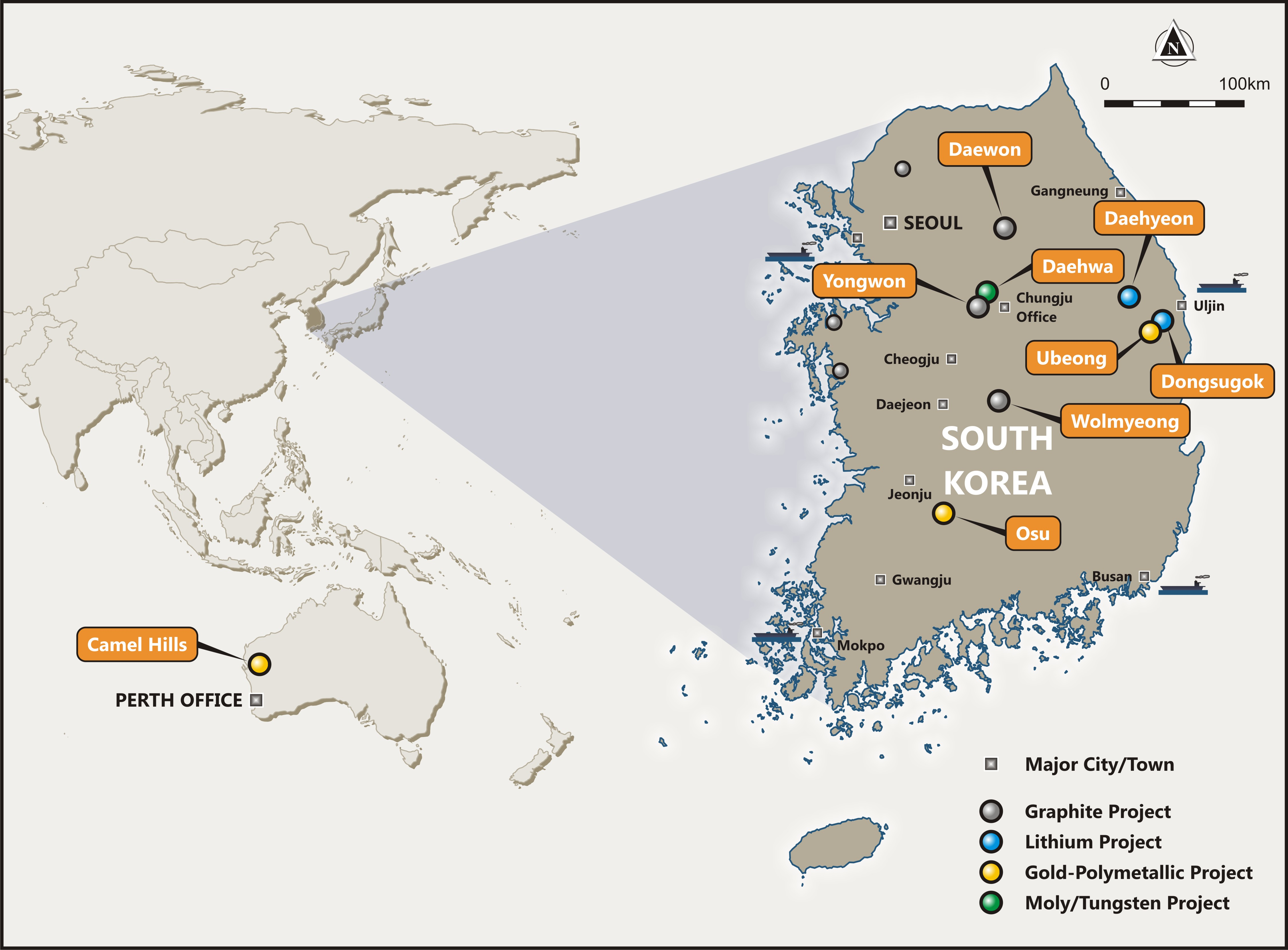 Peninsula raises $1.6m to fund development of South Korean projects