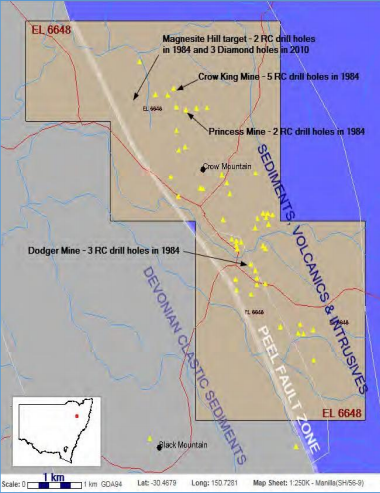 Carbine Tungsten acquires two gold prospects in NSW