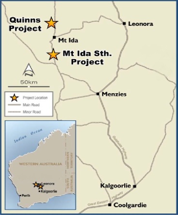 Latitude Consolidated set to commence drilling at Mt Ida and Quinn Hills gold projects