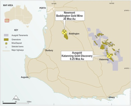 Ausgold kiskstarts aeromagnetic survey at the Katanning Gold Project