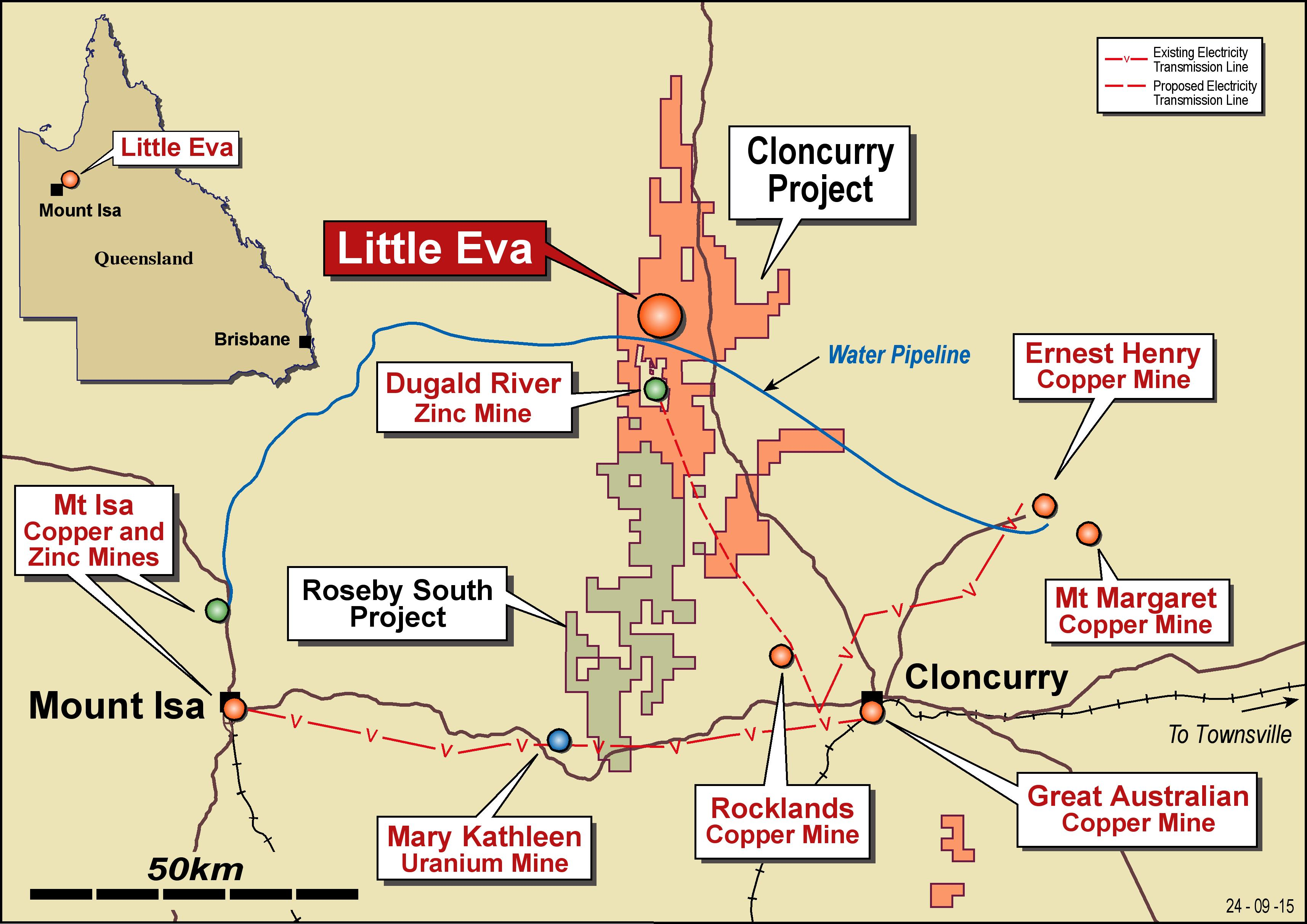 Altona and SRIG agree to extend closing date for Cloncurry JV