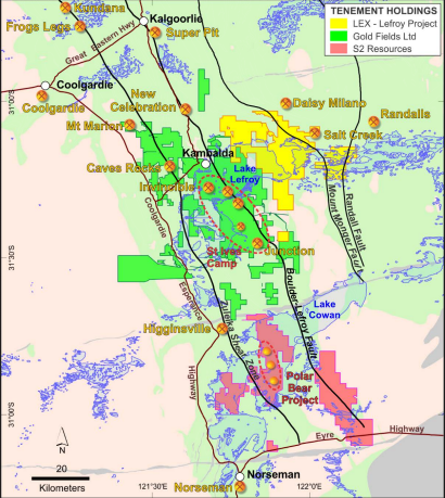 Lefroy Exploration commences inaugural exploration program at Lefroy Gold Project