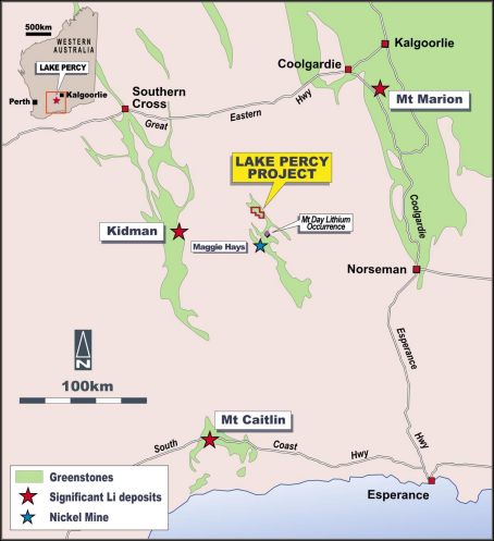 Liontown Resources: initial fieldwork confirms lithium potential at Lake Percy