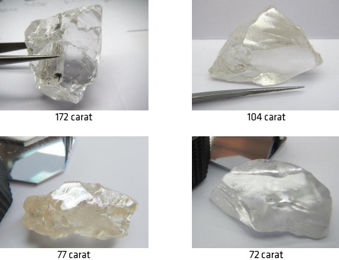 Lucapa Diamond and its partners unearth more large diamonds at Lulo