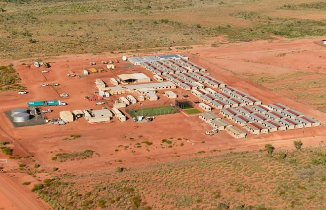 Roy Hill Rail Camp Image credit Pilbara Minerals