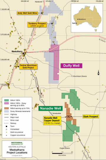 Doray commences drilling at Duffy Well JV