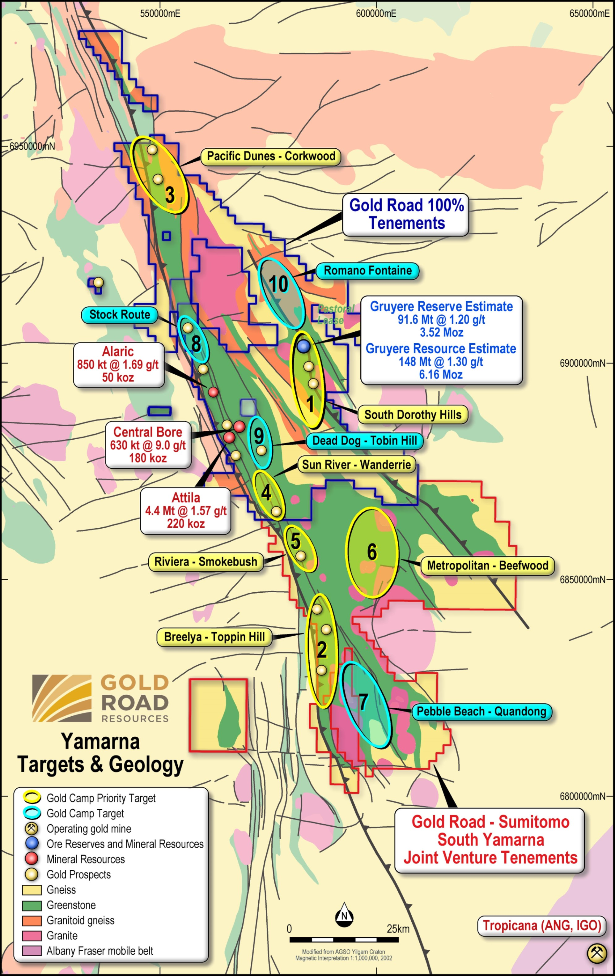 Gold Road and Gold Fields to jointly develop the Gruyere Gold Project in WA