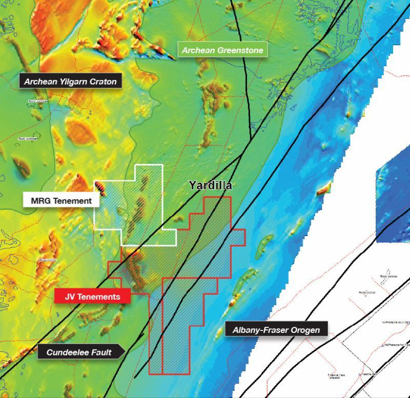 MRG set to commence drilling at Yardilla