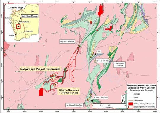 Dalgaranga Gold Project in WA now 100% owned by Gascoyne