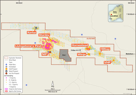 Kingston secures 12-month option to acquire 75% of Livingstone Gold Project