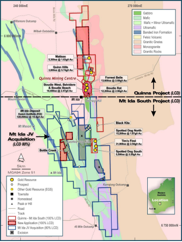 Image credit: Latitude Consolidated ASX release