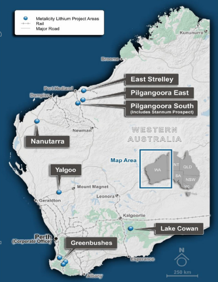 Metalicity commences lithium drilling at Lake Cowan