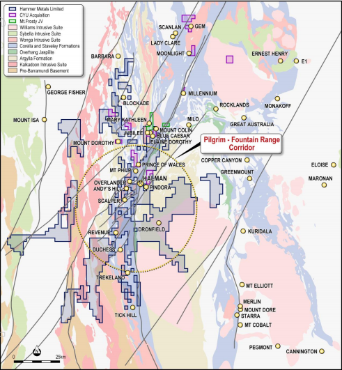 Hammer Metals acquires high grade copper and gold tenements in the Mount Isa district