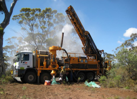 Drilling commences at Mt Cattlin