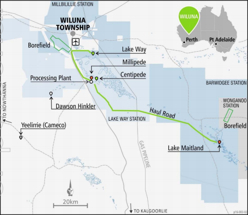 Toro receives environmental approval for Wiluna Uranium Project