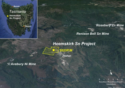Stellar Resources granted Mining Lease over the Heemskirk Tin Project