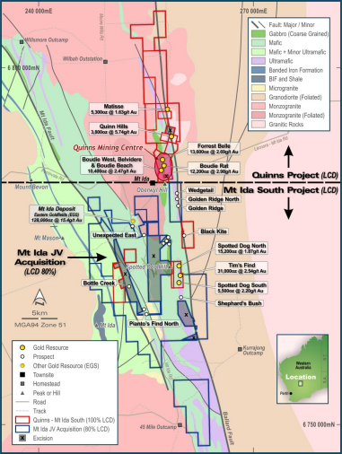 Latitude submits applications for major drilling programs at two WA gold projects