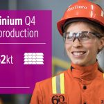 Rio Tinto posts strong fourth quarter production results